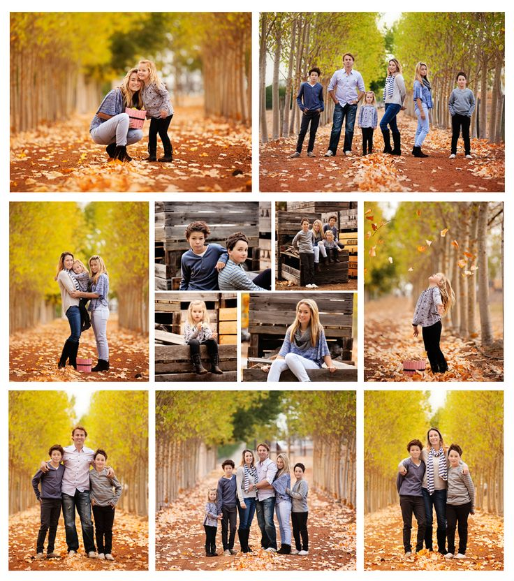 love the posing and when I see pictures of big families.