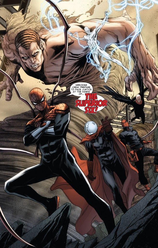 The dawn of the Superior Six (from Superior Spider-Man Team-Up #5)