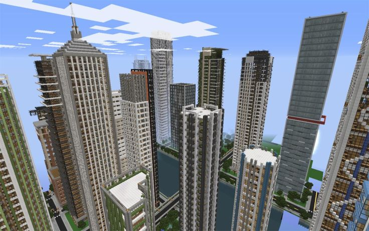 minecraft city buildings 07
