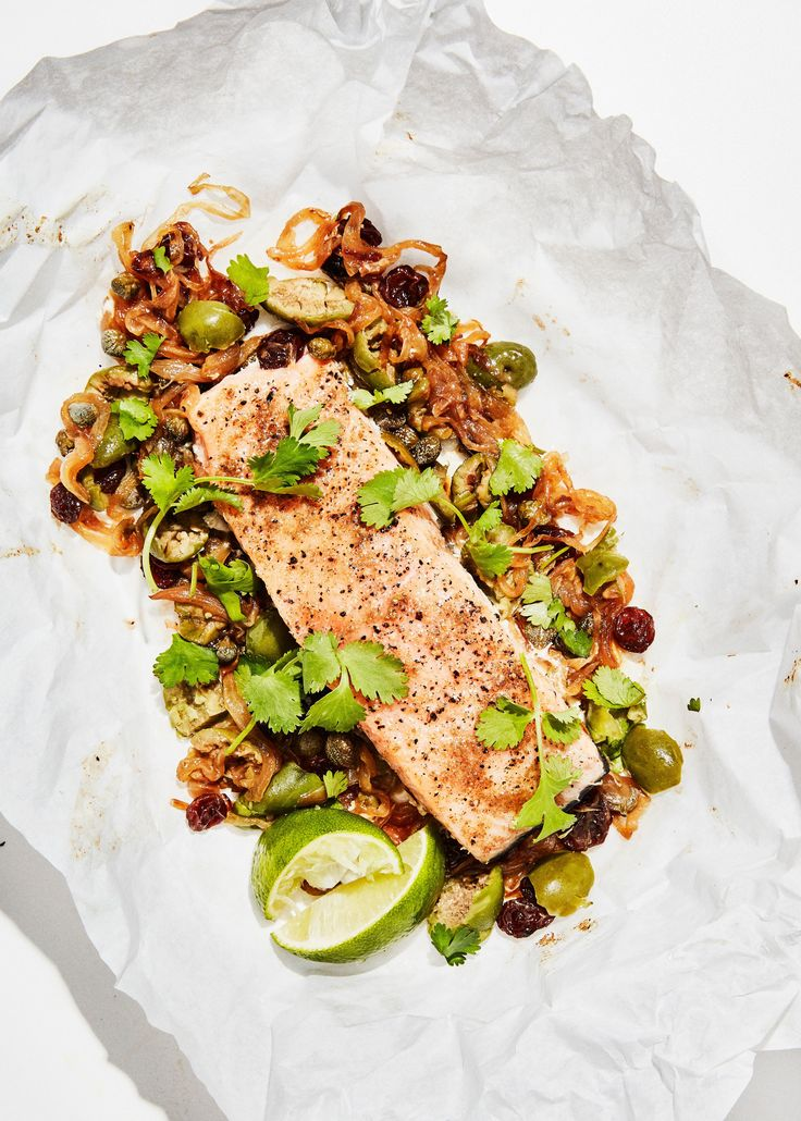 Slow-Roasted Salmon in Parchment Paper Recipe | Bon Appetit