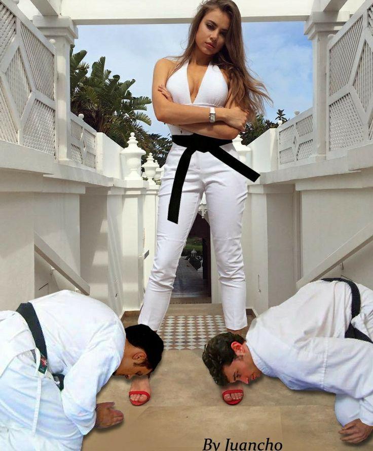 Pin on sexy karate girls in gi