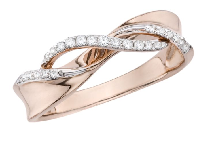 promise ring...............i love the rose gold!