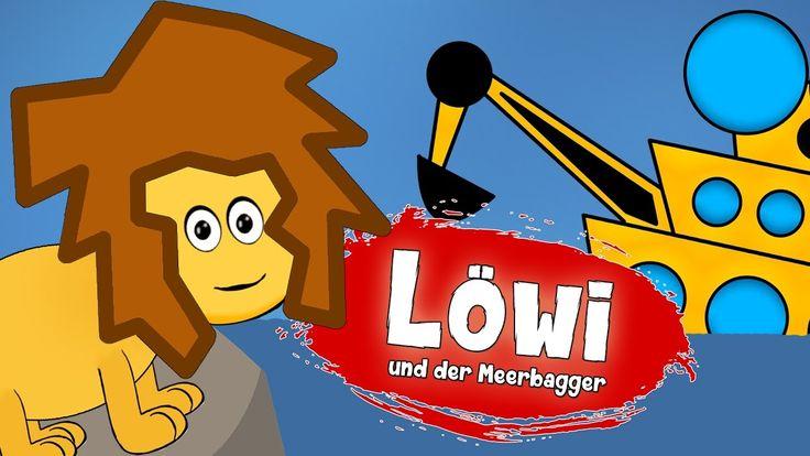Löwi und der Meerbagger :: Kinderfilm deutsch :: Geschichte für Kinder :...
