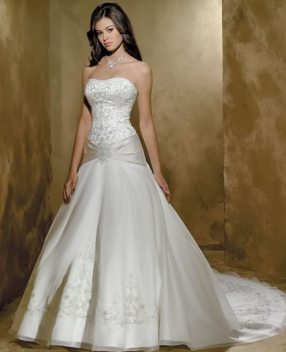 Lovely wedding dress styles for hourglass figures JsRETwSc