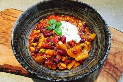 Das beste Chili con Carne, ein sehr leckeres Rezept aus der Kategorie Eintopf. Bewertungen: 511. Durchschnitt: Ø 4,6.