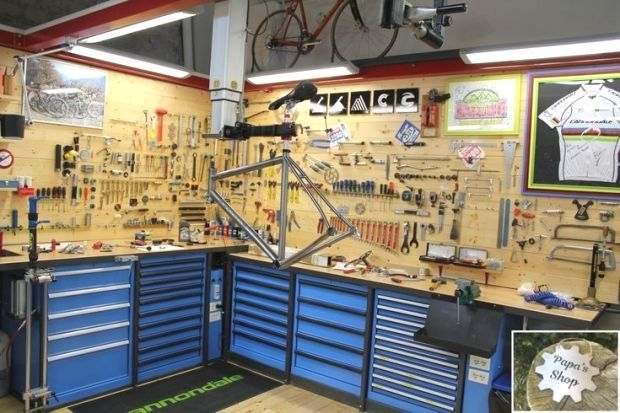Tool Room With Garage Shelving And Overhead Storage Garage