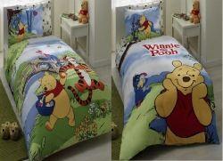 Lenjerie de pat pentru copii Disney Winnie Adventure