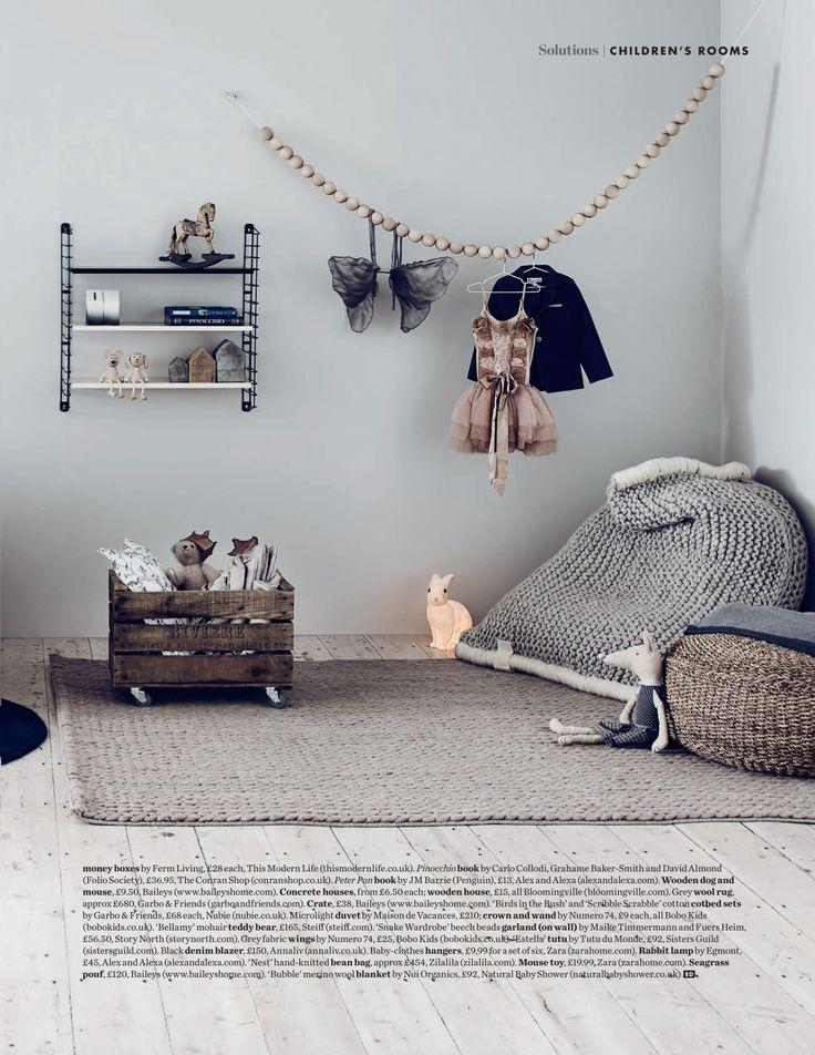 ELLE DECO UK - Inspirations Chambres d'enfants - Find the heico lamp at jollyroom.se #jollyroom