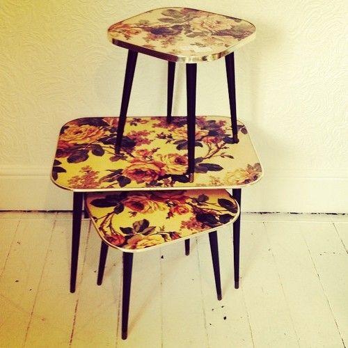 Set of 3 Arnold design retro tables in store now £95 #vintage #retro #antiques #home #homewear #disgracelandvintage #furniture #nicknacks