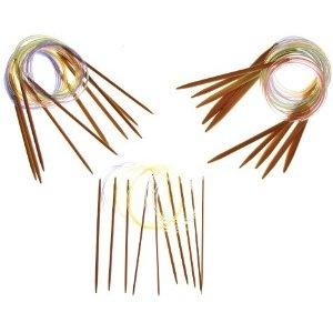 :)Knitting Needles, Sets Collection, Premium Collection, Us 0 2Mm, Bamboo Knits, Collection Us 0, 15 Sets, Inch Circular, Knits Needle