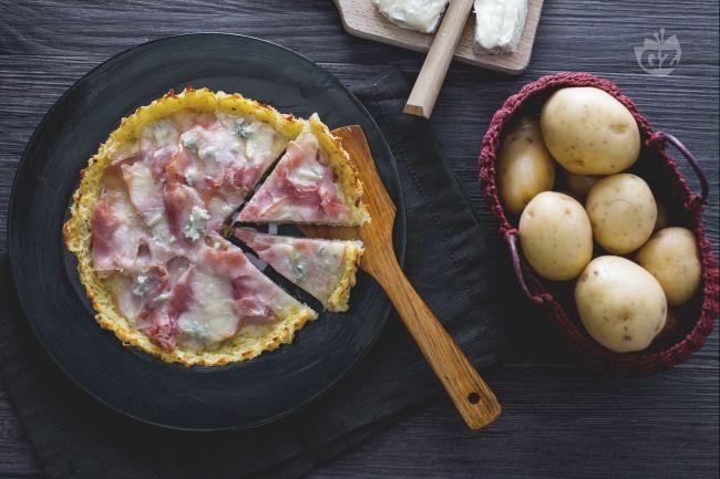 Ricetta Crostata di patate - Le Ricette di GialloZafferano.it