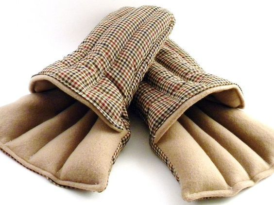 Microwave Slippers, Heating Pads for Feet, Keep Feet Warm with Heat Up Slippers