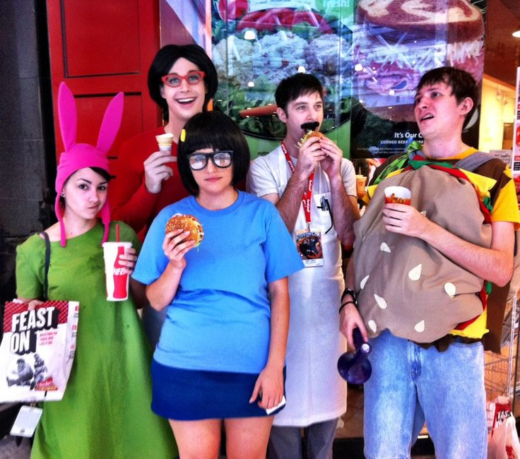 Absolutely Nailed It. Bob's Burgers Cosplay