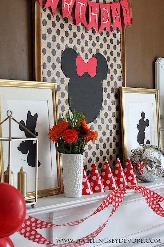 Minnie Mouse Party Theme: 10 Stylish Minnie Mouse Parties