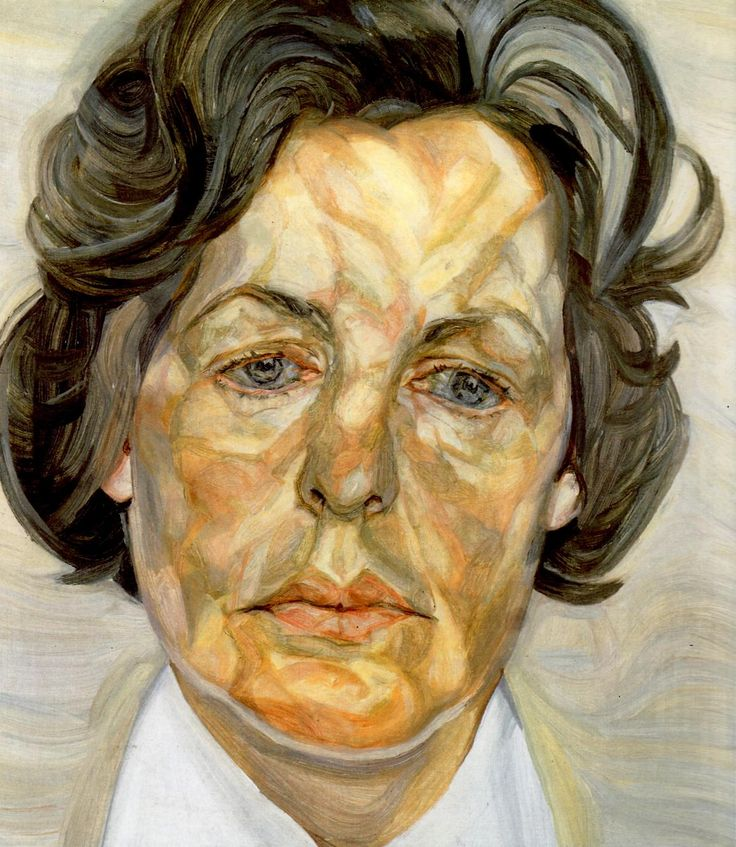 Freud /Woman in a White Shirt, 1956-57