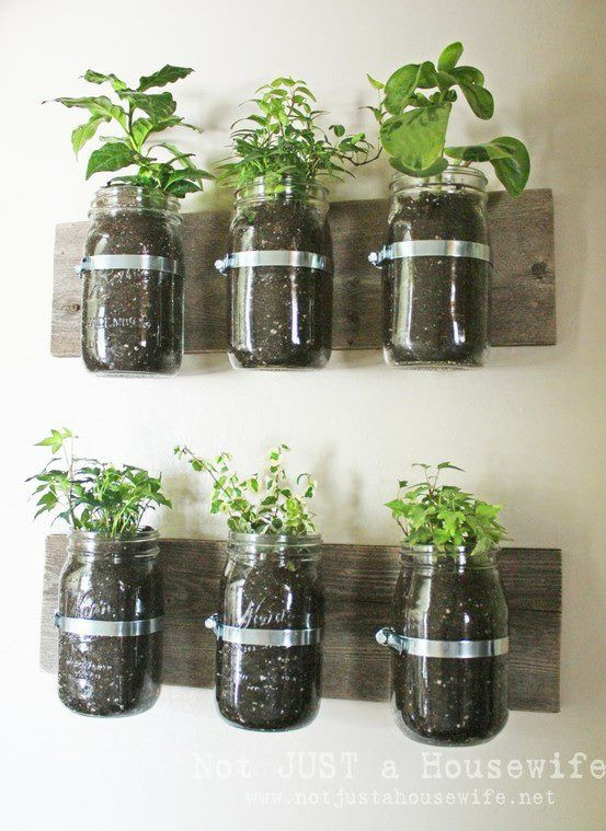 Reusing jars to make vases