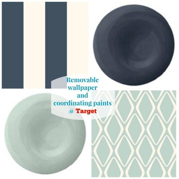 Target Divine Color-Removable Wallpaper.