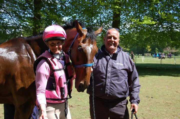 Lucinda and Richard Ames, one of Flying Finish owners.
