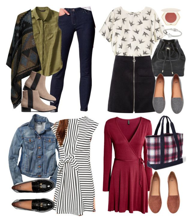 Spencer Hastings inspired outfit with items from stores available in Turkey by liarsstyle on Polyvore featuring polyvore fashion style Vero Moda Banana Republic Gap H&M clothing