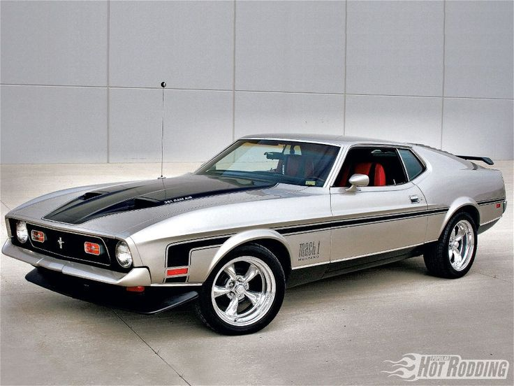 1971 Ford Mustang Mach 1. Most cars I would change, Sometimes it all just Comes Together RIGHT !!!