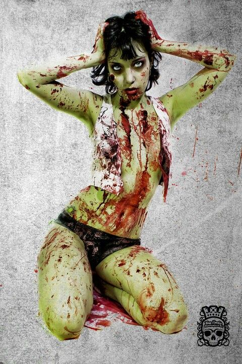 Hasil gambar untuk female zombies mini skirt