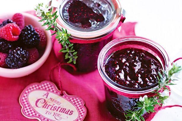 Create this glorious jam using seasonal blackberries and raspberries.