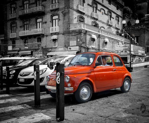 #Sorrento #Italy - #Fiat 500