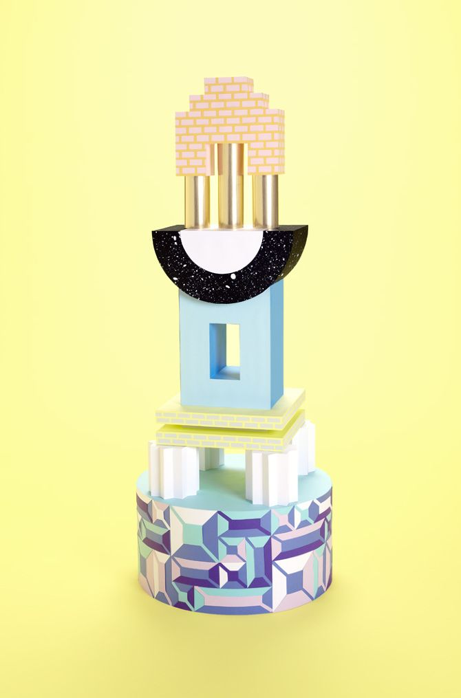 MINTY WARES | Inspiring use of shape and colour.  SONIC - Lydia Shirreff | Paper Engineer & Set Designer | London