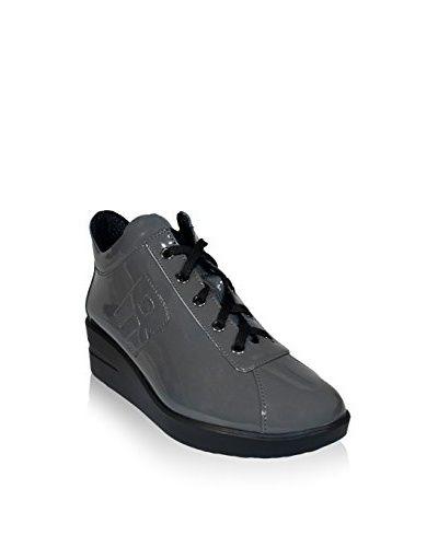 Ruco Line Sneaker Zeppa 200 Vernice S  [Grigio]