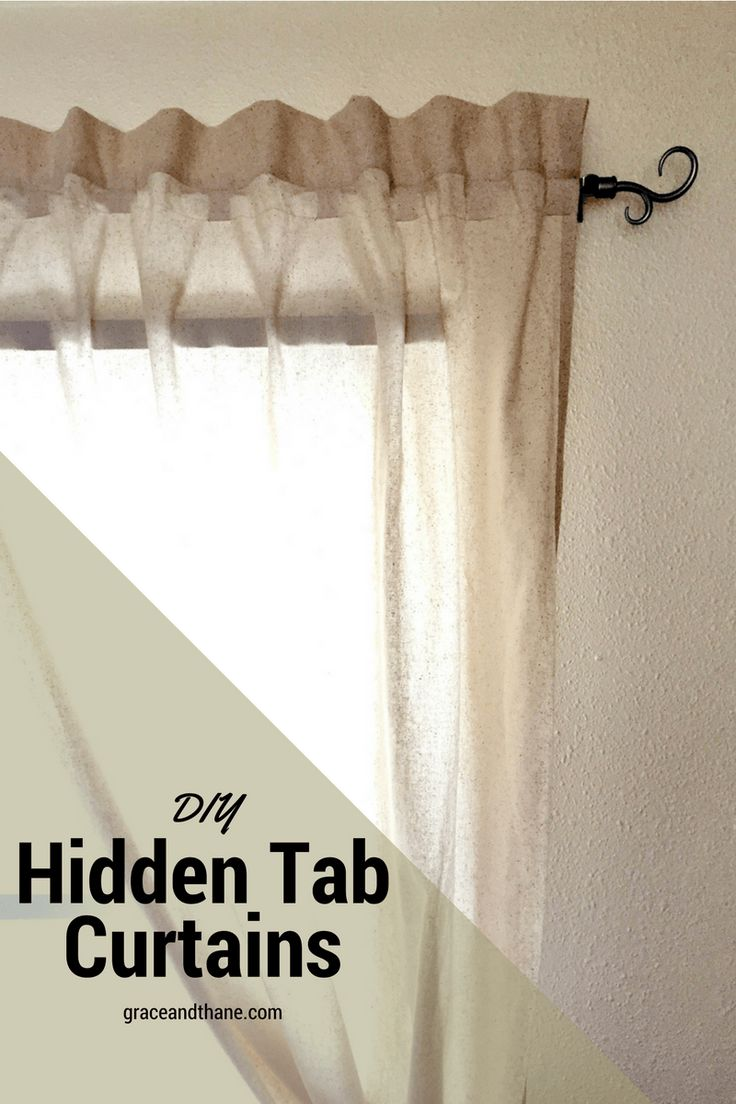 1000 Ideas About Tab Curtains On Pinterest Tab Top Curtains Diy Curtains And Make Curtains