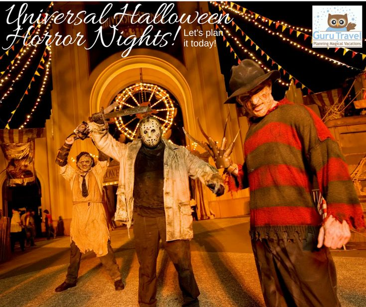 Universal Orlando Halloween Horror Nights-An Overview