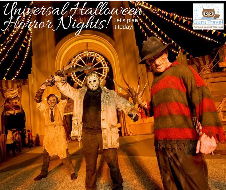 Universal Orlando Halloween Horror Nights-An Overview