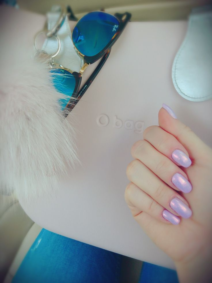Light violet, pink mermaid effect  Obag & RayBan style, pinky girly