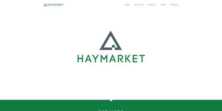 Website for Haymarket – Chicago/USA. Haymarket is the public strategies partner for Chicagoland leaders.