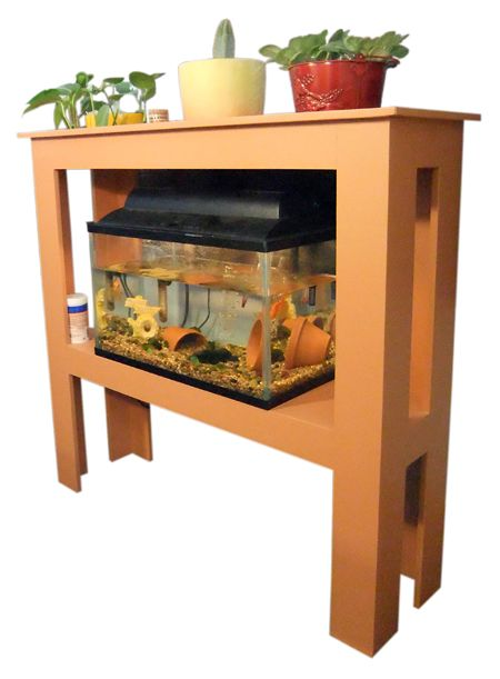 How to build your own 10 gallon fish tank stand for Fish tank stand 10 gallon