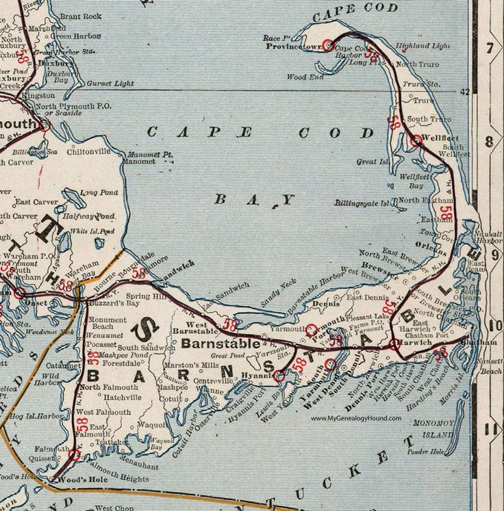 Eastham Cape Cod Map: 1843 Best Cape Cod Charm Happy As A Clam