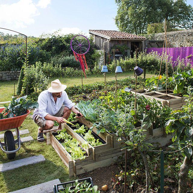 Les 48 meilleures images du tableau jardin am nagement ext rieur sur pinterest balcons for Installer un carre potager