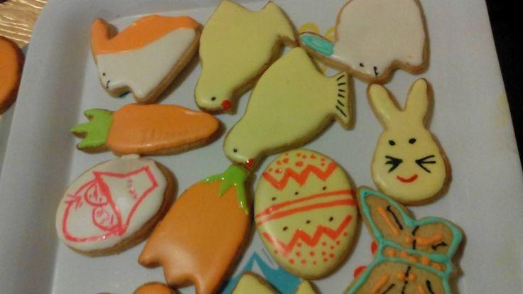 Galletas glaseadas de Pascua