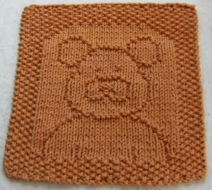 Ted E. Bear Cloth, by Down Cloverlaine on BlogSpot. Free knitting pattern!!