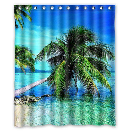 Belle île Cool Plage tropicale Custom Rideau de douche 15... https://www.amazon.fr/dp/B00ZOQGIY2/ref=cm_sw_r_pi_dp_U19Axb5ZJP3WE