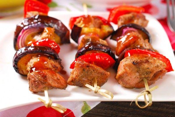 Шашлык из индейки с баклажанами и перцем, ссылка на рецепт - https://recase.org/shashlyk-iz-indejki-s-baklazhanami-i-pertsem/  #Птица #блюдо #кухня #пища #рецепты #кулинария #еда #блюда #food #cook