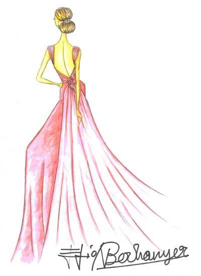 17 mejores ideas sobre bocetos de dise o de moda en for Dibujos de disenos de moda