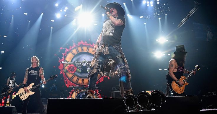 Where Do Guns N' Roses Go From Here?  ||  Guns N' Roses are nearing the end of their reunion tour, and we lay out all the roads they might take from here. http://www.rollingstone.com/music/lists/guns-n-roses-us-tour-ends-what-will-band-do-now-w512314?utm_campaign=crowdfire&utm_content=crowdfire&utm_medium=social&utm_source=pinterest