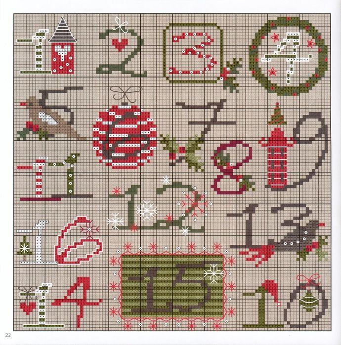 Gallery.ru / Foto # 4 - design tedesco - 5 - anethka--good idea for advent calendar