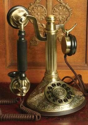 Victorian Trading Company. Vintage phone; would fit in nicely with the décor.