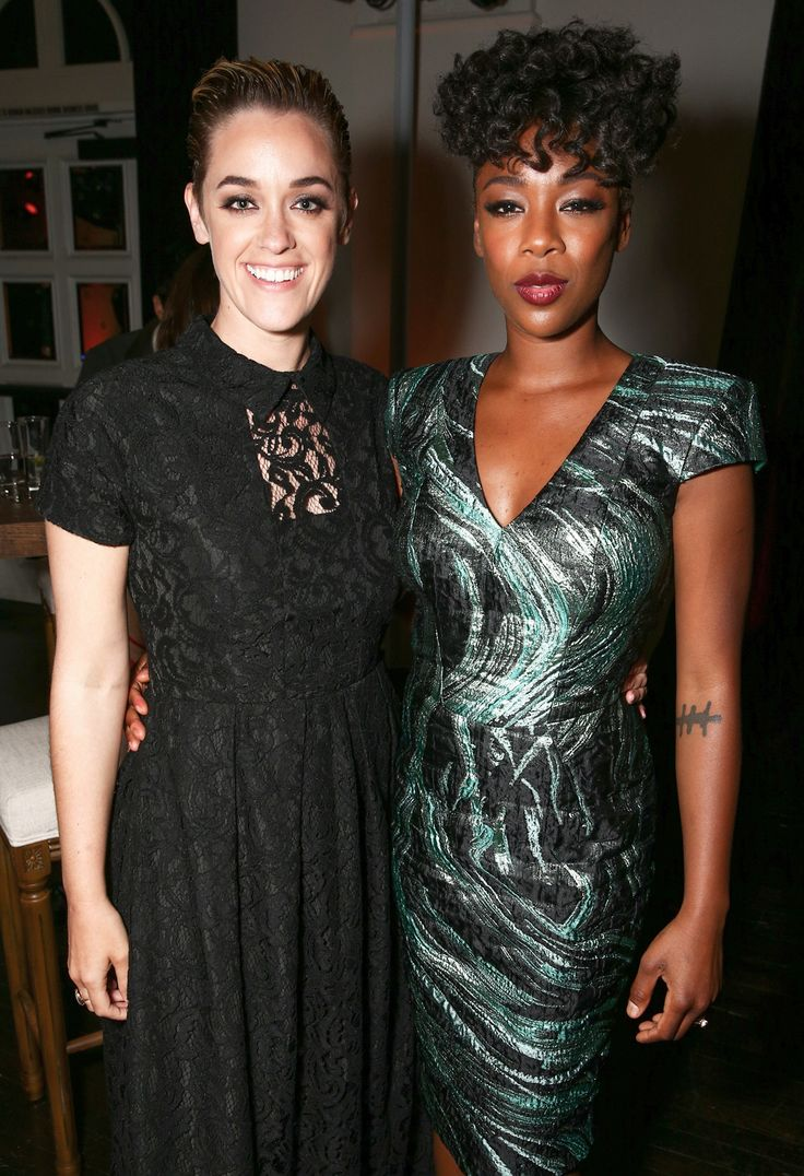 Samira Wiley and Lauren Morelli Walked Their First Red Carpet Together as Wife and Wife from InStyle.com
