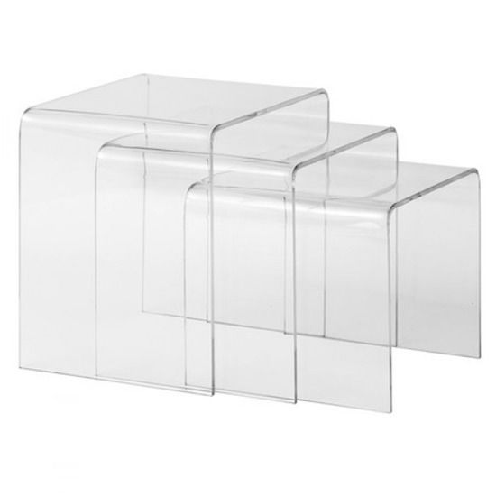 Draper Nesting Tables   Set Of 3. Simplicity And Classic Style Best Sum Up  Our