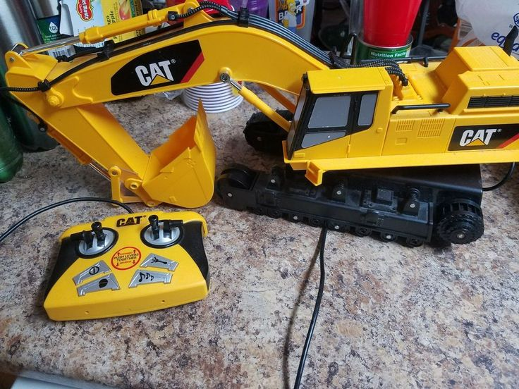 CAT Backhoe Loader  Missing a tire track As Is Cond Extremely Rare 1993  #CAT