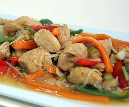 Chop Suey de pollo y verduras. Receta china by pazrs on www.recetario.es