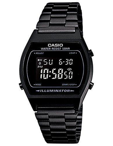 Buy CASIO Vintage Collection B640WB-1BVT Watch, Black/Black - Topvintagestyle.com ✓ FREE DELIVERY possible on eligible purchases